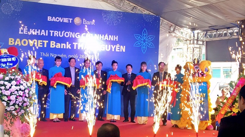 BAOVIET Bank khai trương chi nhánh và Phòng giao dịch mới tại Thái Nguyên, Cần Thơ