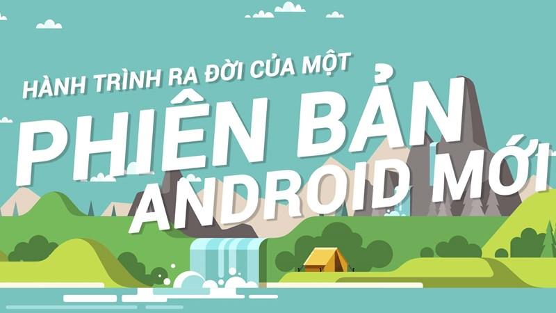 [Infographic] Các hãng điện thoại phát triển phiên bản Android mới như thế nào?