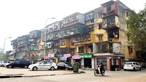 Cải tạo chung cư cũ: Chậm do đâu?