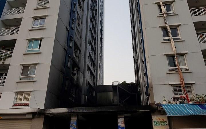 [Video] Vụ hỏa hoạn tại chung cư Carina, khiến 13 người chết diễn ra như thế nào?