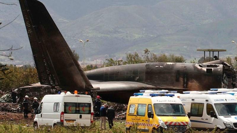 [Infographic] Algeria: Thảm cảnh máy bay quân sự rơi, gần 260 người chết