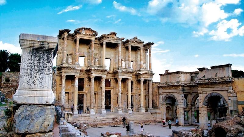 Ephesus: Dấu ấn huy hoàng của La Mã cổ đại