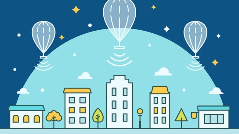 [Video] Khám phá công nghệ phát Internet bằng khí cầu trôi nổi trên không