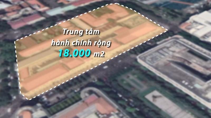[Video] Mô phỏng trung tâm hành chính 18.000 m2 của TP. Hồ Chí Minh