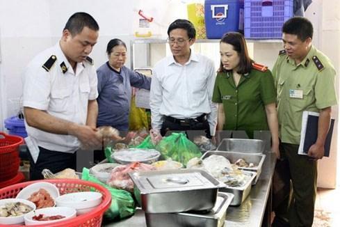 Xử lý nghiêm cơ sở vi phạm quy định an toàn thực phẩm