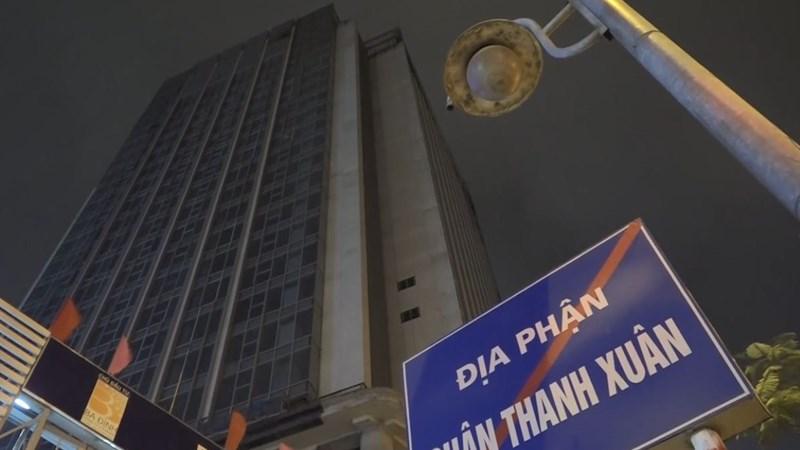 [Video] Lại cháy tầng 25 tòa nhà đang thi công ở Hà Nội
