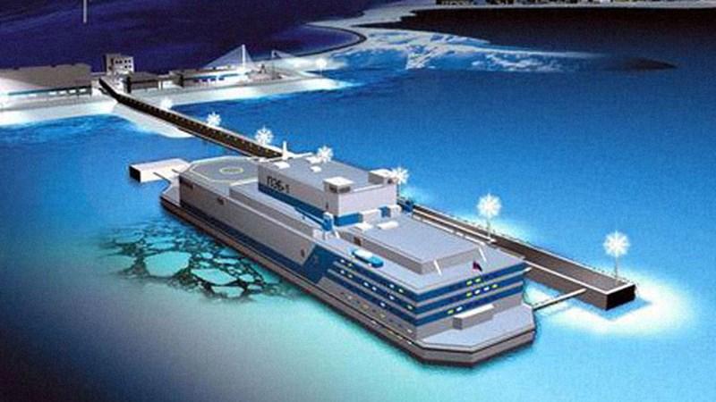 [Video] Nga triển khai nhà máy điện hạt nhân nổi công suất 70 megawatt