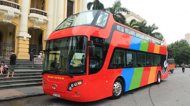 [Video] Xe buýt 2 tầng đầu tiên của Hà Nội sắp khai trương