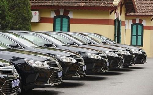 Sẽ mở rộng hình thức khoán kinh phí sử dụng xe ô tô công