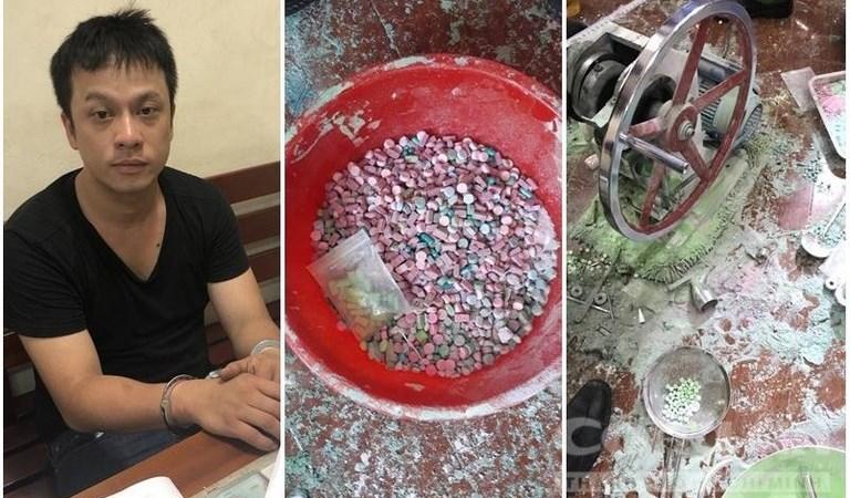 [Video] Đội hình sự đặc nhiệm TP. Hồ Chí Minh triệt phá lò sản xuất ma tuý ở ven Sài Gòn