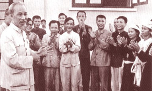 Tư tưởng yêu nước, thương dân trong Lời kêu gọi thi đua ái quốc của Chủ tịch Hồ Chí Minh