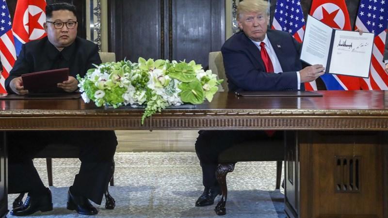 [Infographic] 4 điểm quan trọng trong thỏa thuận lịch sử Mỹ - Triều
