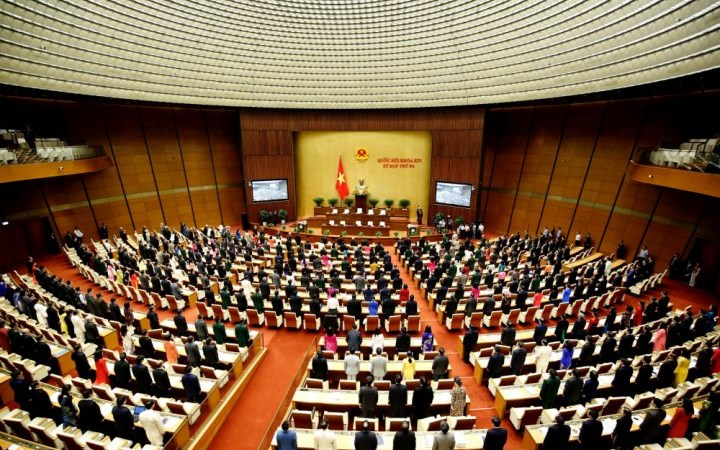 [Infographic] Kỳ họp thứ 5, Quốc hội khoá XIV: Thông qua 7 dự án luật