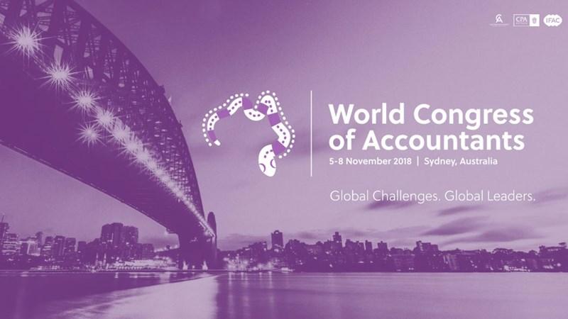 Ngày 8/11, Đại hội Kế toán Thế giới 2018 sẽ diễn ra tại Sydney, Australia