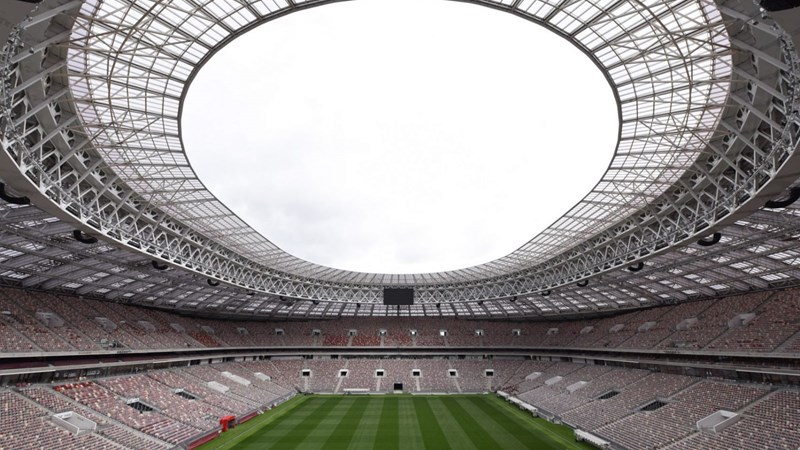 Chiêm ngưỡng 12 sân vận động tổ chức các trận đấu World Cup 2018 ở Nga