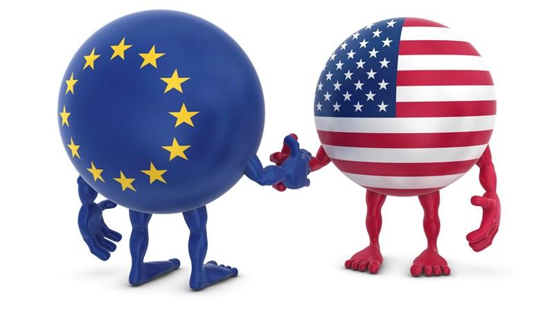 [Infographic] Quan hệ thương mại hàng hóa giữa EU và Mỹ