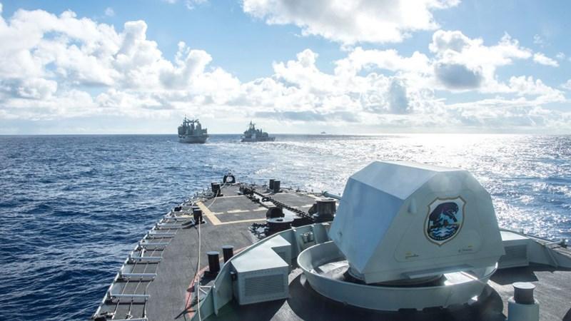 [Video] Những hình ảnh ấn tượng về diễn tập hải quân quốc tế Vành đai Thái Bình Dương - RIMPAC 2018