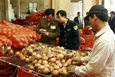 Bảo đảm đồng bộ trong kiểm soát an toàn thực phẩm