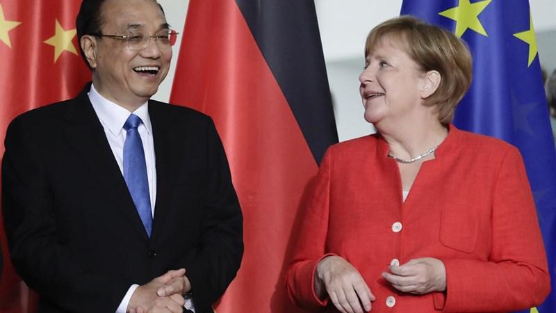 Đức và Trung Quốc cam kết chống lại chủ nghĩa bảo hộ