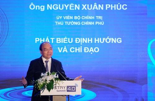 Thủ tướng Nguyễn Xuân Phúc: CMCN 4.0 là cơ hội để thực hiện khát vọng phồn vinh