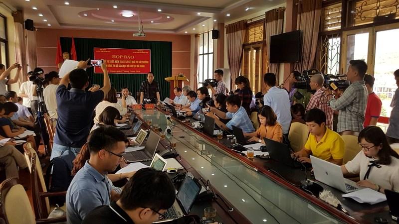 [Infographic] Thông tin chính thức về xử lý kết quả thi bất thường tại Hà Giang