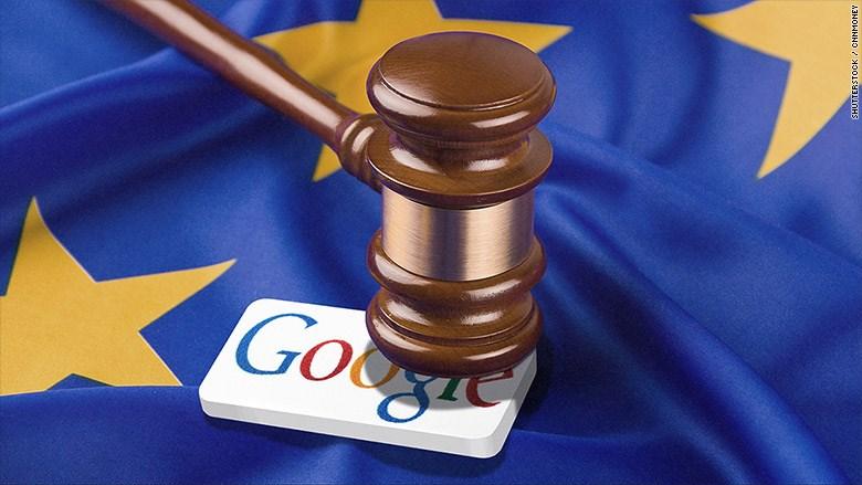 Google bị châu Âu phạt 5 tỷ USD vì hệ điều hành Android