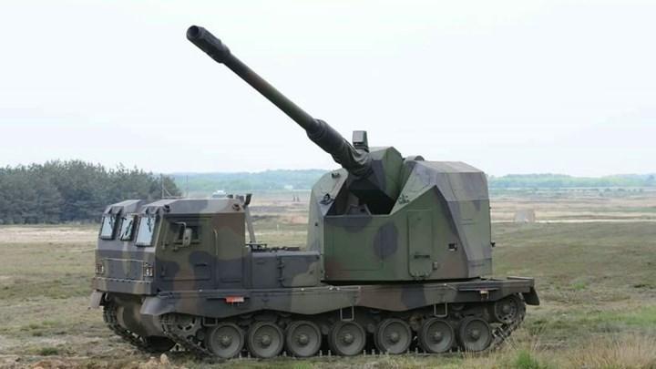 Sức mạnh đáng nể của pháo tự hành DONAR