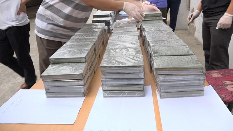 [Video] Số ma túy thu giữ trong 6 tháng đầu năm 2018 bằng cả năm 2017
