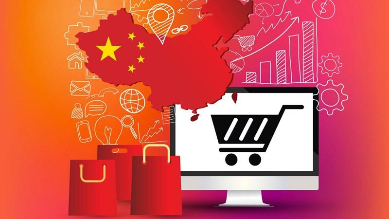 """[Infographic] Quy mô ngành """"kinh tế Internet"""" siêu lớn của Trung Quốc sắp vượt mặt Mỹ"""