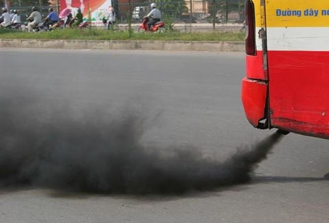 [Video] Hà Nội kiểm tra đột xuất khí thải xe khách