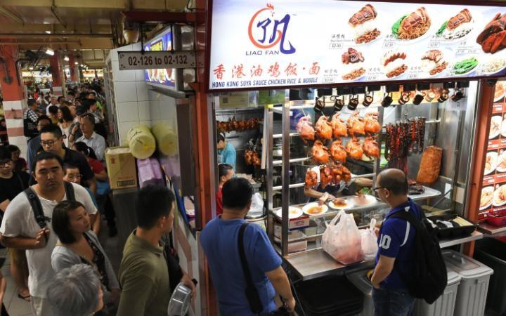 [Video] Thiên đường ẩm thực đường phố ở Singapore