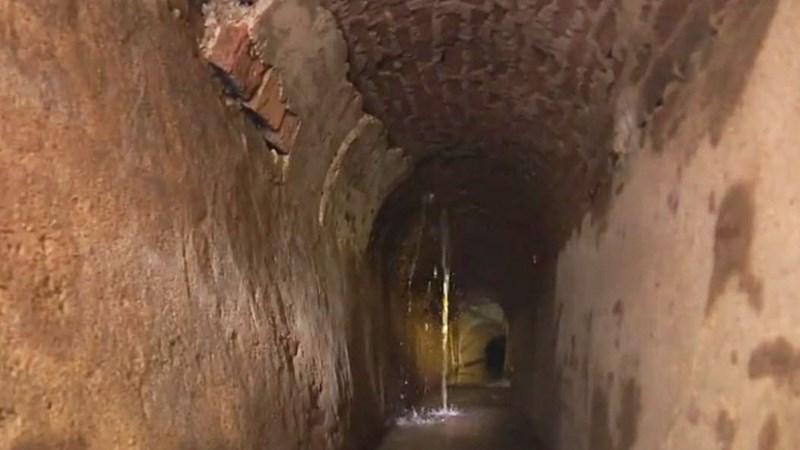 [Video] Khám phá hệ thống cống vòm 150 tuổi của Pháp dưới lòng trung tâm Sài Gòn