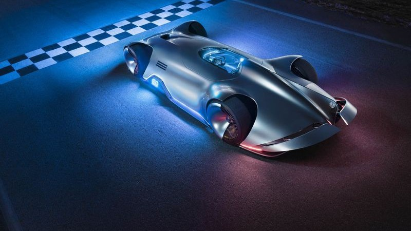 Mercedes ra mắt mẫu xe điện tương lai lấy cảm hứng từ xe đua