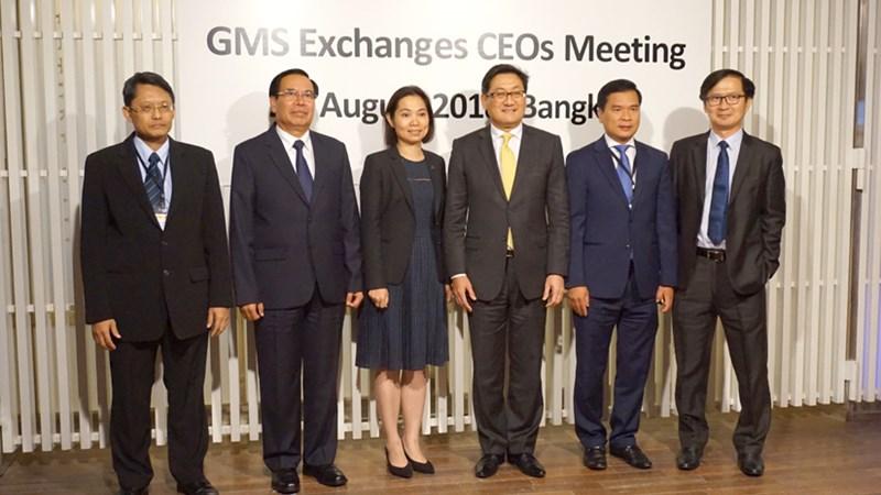 HNX tham dự Hội nghị Tổng giám đốc các Sở Giao dịch Chứng khoán Tiểu vùng sông Mê Kông (GMS)