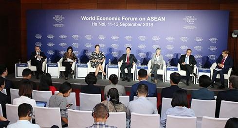 """Diễn đàn Kinh tế Thế giới về ASEAN 2018: Để ASEAN """"phẳng"""" hơn, gắn kết hơn"""