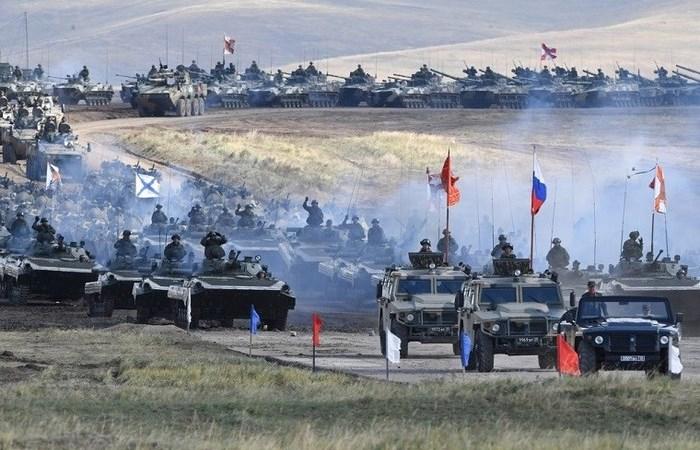 [Video] Những hình ảnh ấn tượng tại cuộc tập trận lớn nhất 40 năm qua của Nga
