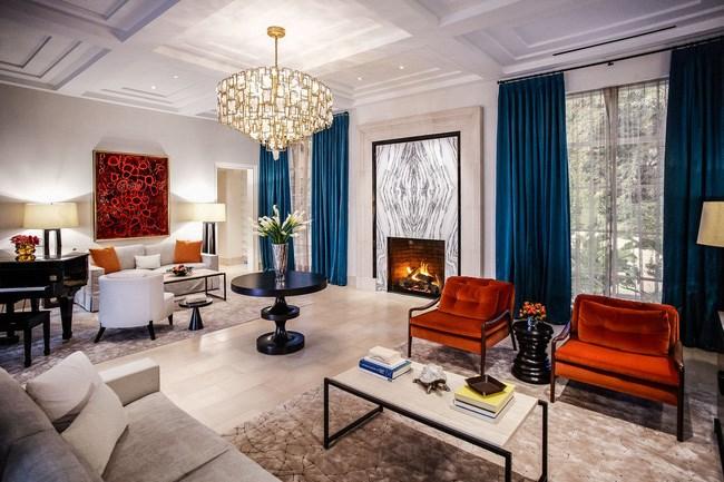 Bên trong phòng khách sạn hạng sang giá 300.000 USD/tháng
