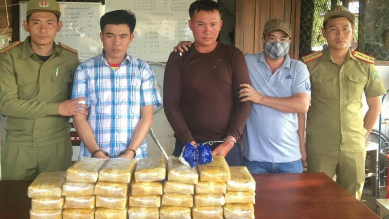[Video] Quảng Trị: Bắt 200.000 viên ma tuý trên đất Lào