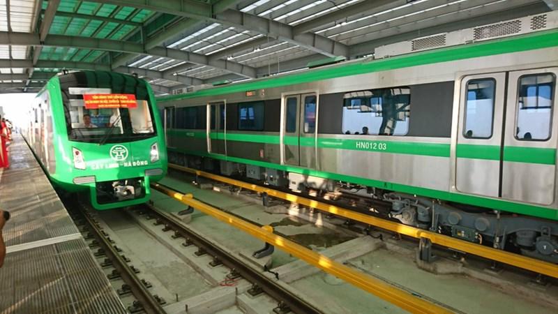 [Video] Vận hành thử toàn bộ hệ thống đường sắt Cát Linh - Hà Đông