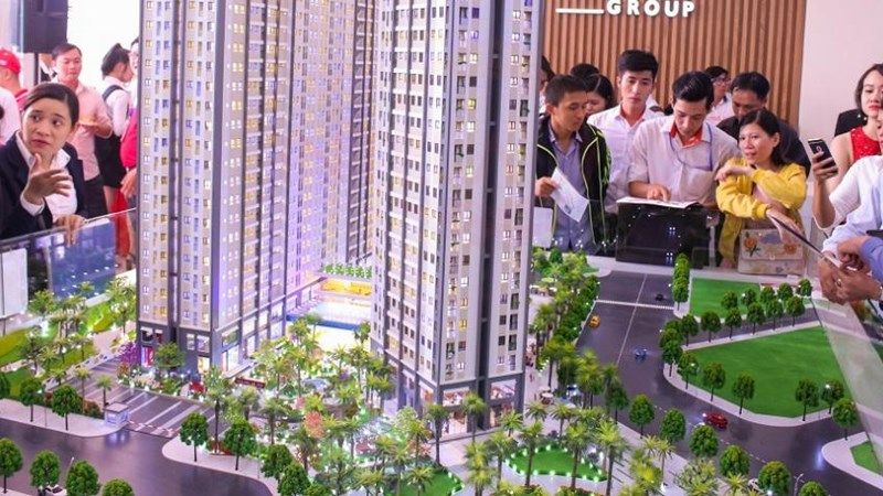 """Thị trường căn hộ: Tất bật """"đón sóng"""" cuối năm"""
