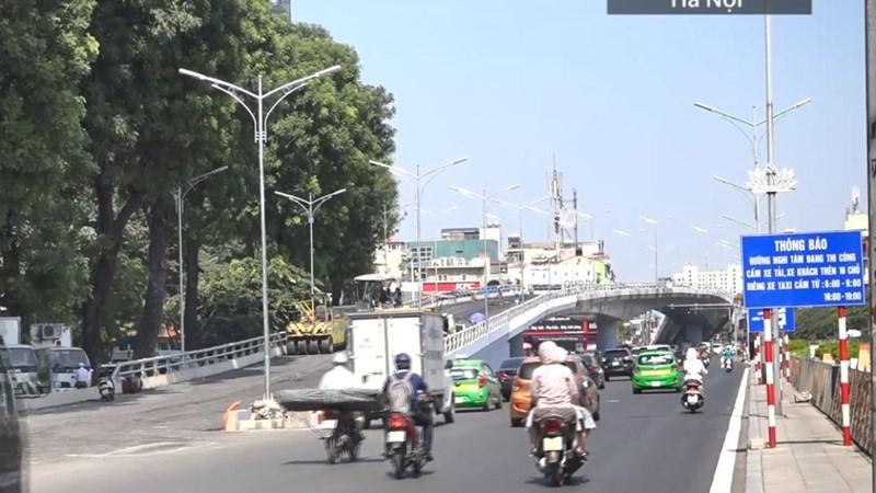 [Video] Cầu vượt hơn 300 tỷ đồng ở Hà Nội sắp hoàn thành