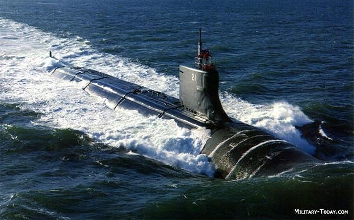 Top 10 tàu ngầm tấn công lợi hại nhất thế giới ở khía cạnh tàng hình lẫn vũ khí