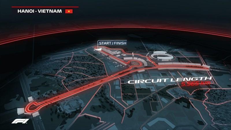 [Video] Đường đua F1 ở Mỹ Đình