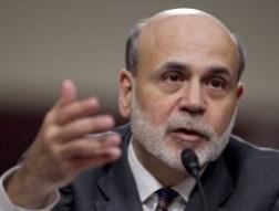 Phố Wall tăng nhẹ sau phát biểu của Bernanke