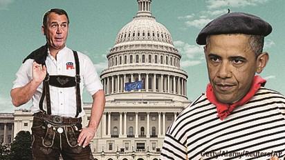 Bế tắc ngân sách ở Mỹ: Tệ hơn cả châu Âu!
