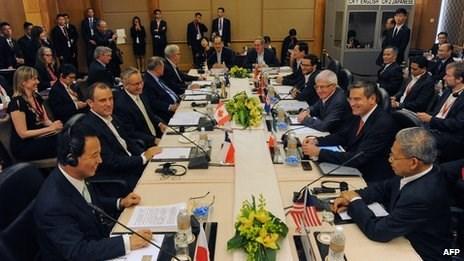 Đàm phán TPP vẫn bế tắc