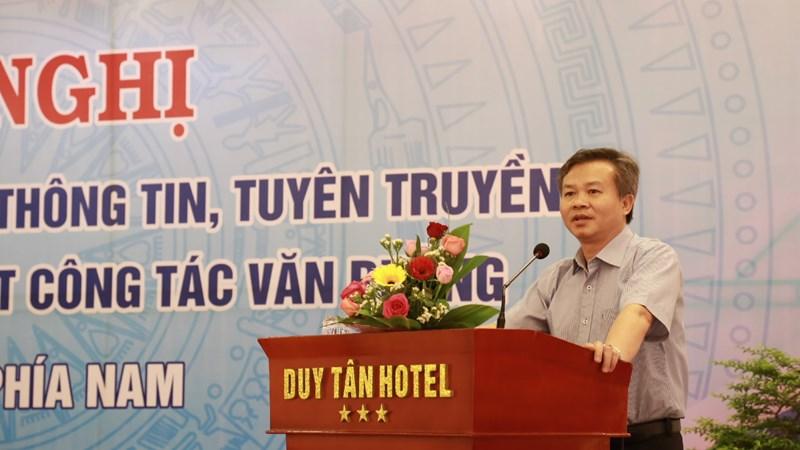 Tổ chức hội nghị tuyên truyền khu vực phía Nam