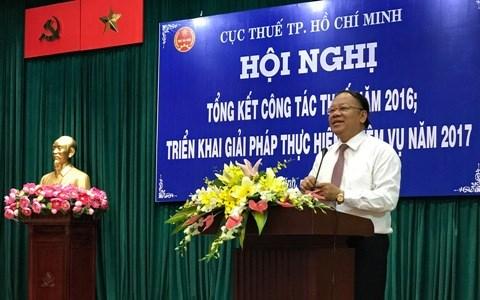 Ngành Thuế TP.Hồ Chí Minh quyết tâm đạt nhiệm vụ thu 226.482 tỷ đồng