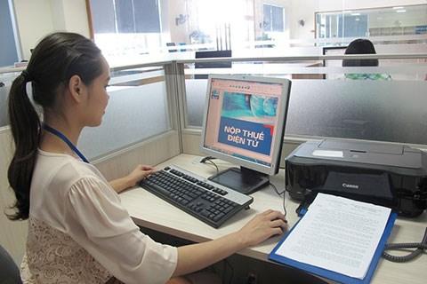 Cục thuế Điện Biên vận động doanh nghiệp nộp thuế điện tử