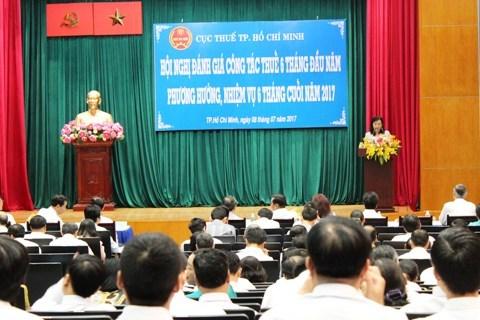 Cục Thuế TP. Hồ Chí Minh quyết tâm thu đạt 250.000 tỷ đồng